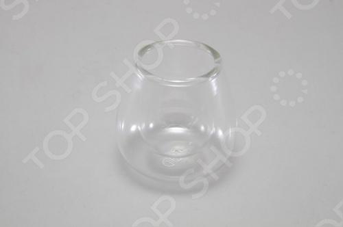 Стакан двойной Stahlberg 7009-S из бросиликатного стекла, которое позволяет стеклу не трескаться при резких изменениях температуры. Двойные стенки стакана позволяют сохранять напиток горячим длительное время, и вы не обжигаете свои пальцы.