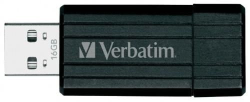Флешка Verbatim PinStripe 16Gb usb flash накопитель verbatim pinstripe 16gb green