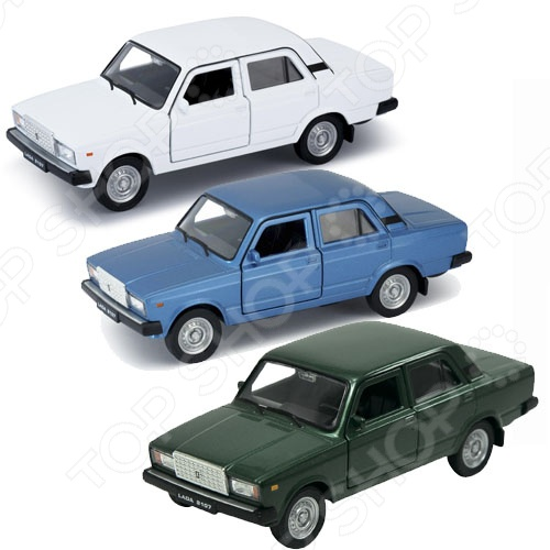 Модель автомобиля 1:34-39 Welly LADA 2107 эсп гранат на ваз 2107 купить нижний новгород