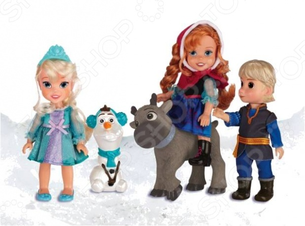 Набор кукол и аксессуаров Disney Princess «Холодное Сердце» фабрика фантазий н р для росписи витража холодное сердце олаф и свен