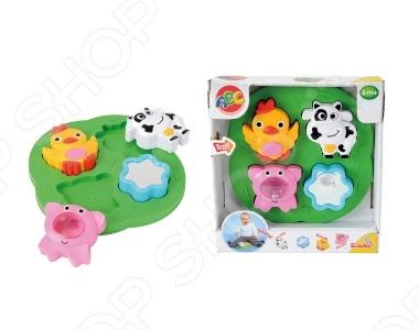 Пазлы-животные Simba 4010627 понравится как деткам, так и взрослым. Данную модель можно отнести к развивающим. Животные имеют развивающие элементы: погремушку, безопасное зеркало. Игрушка развивает моторику рук, воображение, мышление. В игровой форме ребёнок познакомится с домашними животными, фигурами.