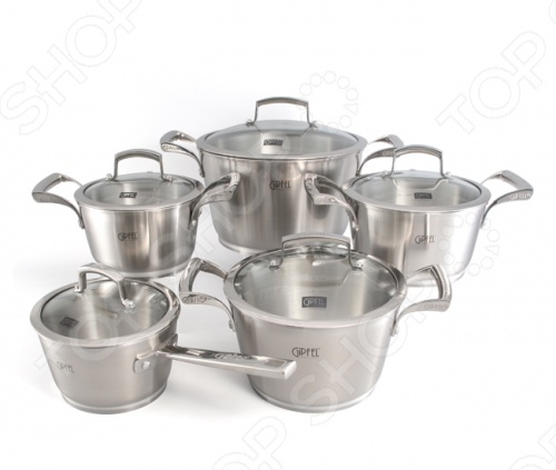 Набор кухонной посуды Gipfel GENESIS 1537