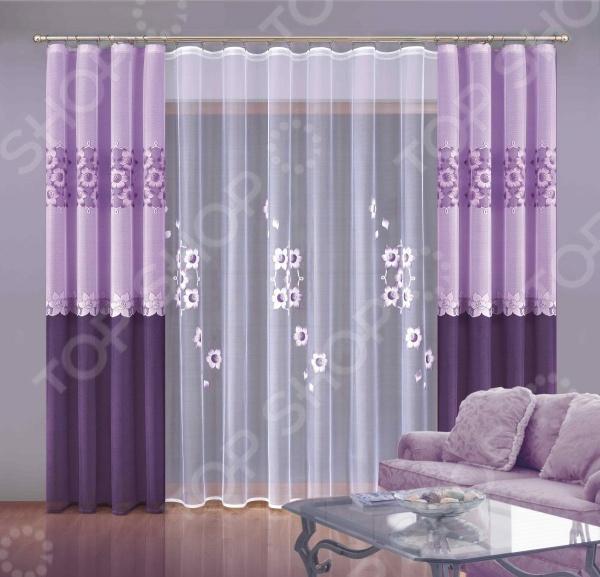 Комплект штор Wisan «Зоя» смеситель с душем недорого купить