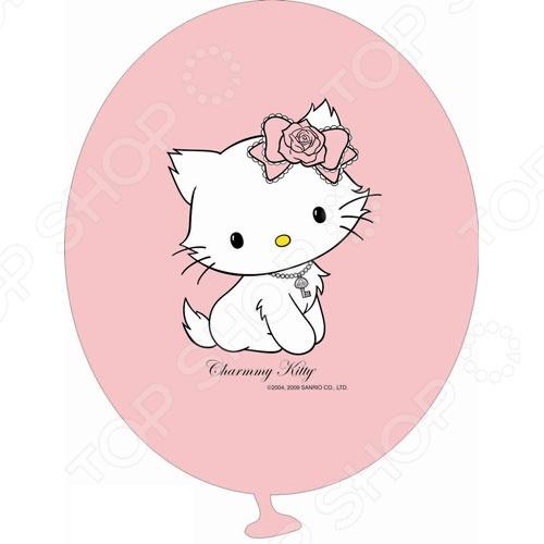цена Шарики надувные Everts «Hello Kitty»