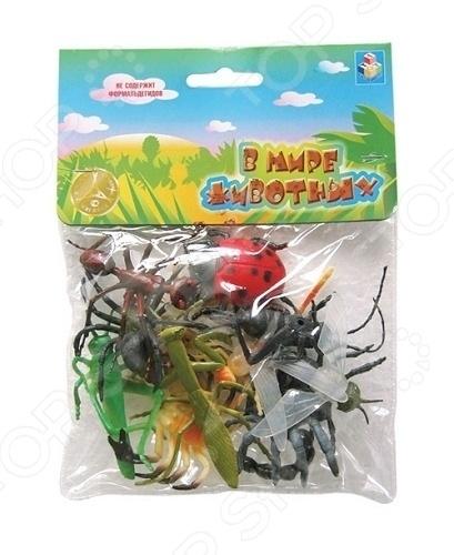 Набор насекомых игрушечных 1toy Т50523
