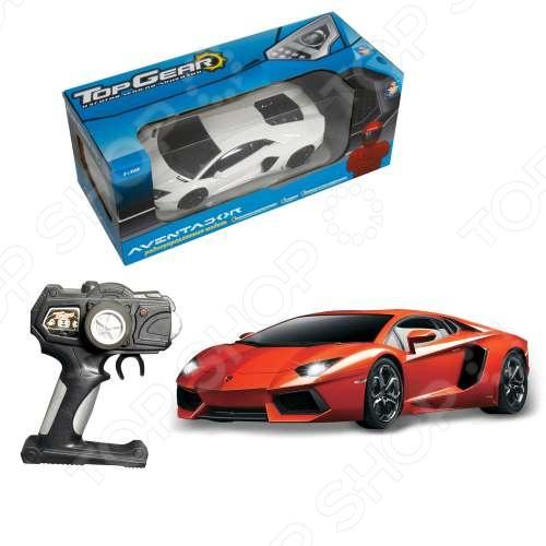 Машина на радиоуправлении 1:18 Top Gear Lamborghini 700