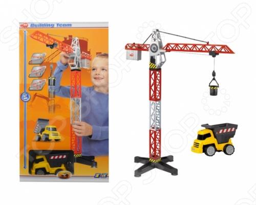 Набор игровой: кран и самосвал Dickie игровой набор dickie toys набор кран и самосвал