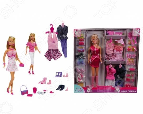 Кукла с аксессуарами Simba Штеффи с одеждой