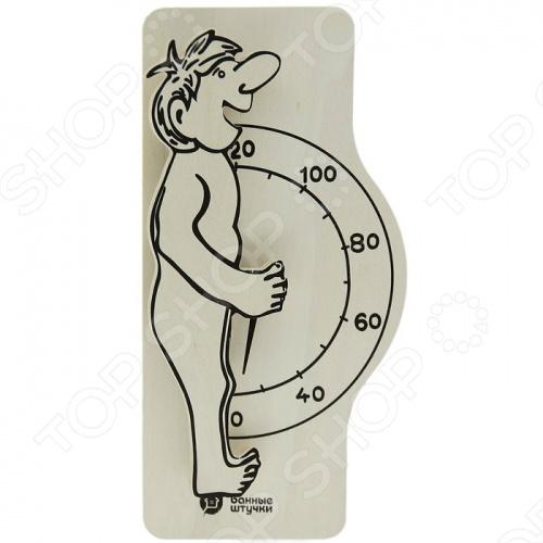 Термометр для бани и сауны Банные штучки «Банщик» рукавица для бани и сауны банные штучки 33262