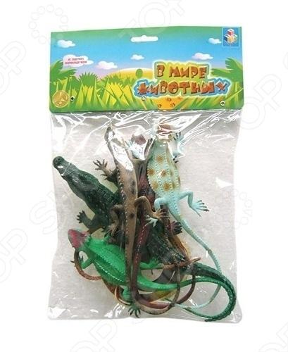 Набор ящериц 1 Toy Т50531