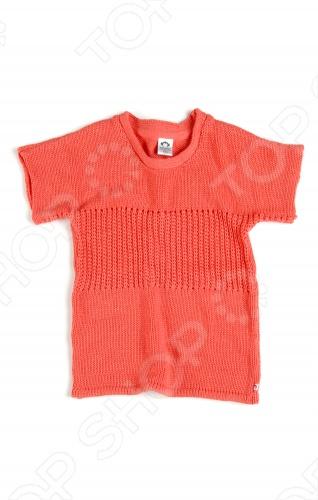Appaman - основан в 2003 году дизайнером Харальдом Хузуме. Appaman имеет уникальный взгляд на скандинавский стиль AMERIPOP. Хузум находит вдохновение на улицах Бруклина и переводит его в свою постоянно меняющуюся палитру ярких одежд. Appaman, воплощая свои яркие творческие проекты, не забывает об удобстве и качестве для маленьких и главных людей. Вы считаете, что детская одежда должна быть не только удобной, но также стильной и индивидуальной Тогда бренд Appaman USA для Вас! Кофта с коротким рукавом Appaman Montauk Sweater. Очаровательная яркая вязанная кофта с округлым вырезом горловины и с коротким рукавом. Передняя часть модели выполнена крупной узорной вязкой. Состав: 50 хлопок, 50 акрил.