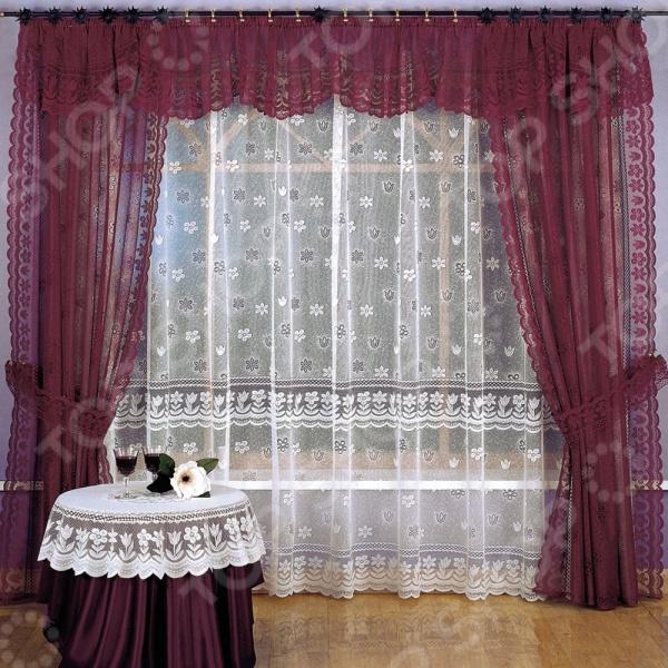Комплект штор Wisan Malwina шторы wisan шторы с ламбрекеном wallis