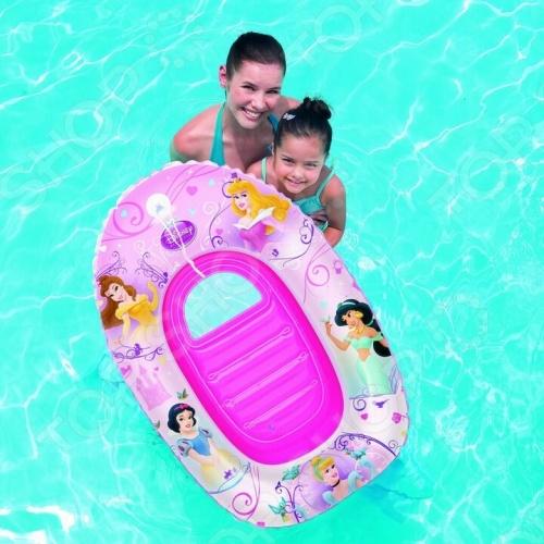 Лодка надувная детская Bestway «Русалочка» 91044 надувная лодка bestway красная