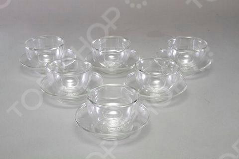 Фото - Чашка с блюдцем Gipfel 7011 [супермаркет] jingdong геб scybe фил приблизительно круглая чашка установлена в вертикальном положении стеклянной чашки 290мла 6 z