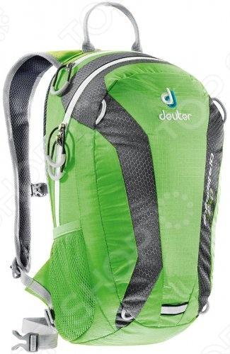 Рюкзак Deuter Speed lite 10 2013 это отличный походный рюкзак, который составит вам добрую компанию в любом путешествии. Новый спортивный и урбанистический дизайн прекрасно смотрится и на тропинках в горах, и на оживленных улицах города. Идеально подходит для езды на велосипеде. Есть совместимость фиксатора для питьевой системы. Кроме того, рюкзак оснащен компрессионными ремнями, анатомическими плечевыми лямками и набедренным поясом с сетчатыми крыльями, двумя боковыми карманами.