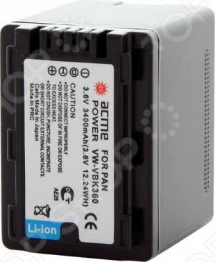 Аккумулятор для телефона Аккумулятор для фотоаппарата AcmePower AP-VBK-360