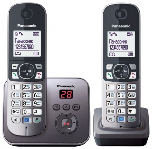 Радиотелефон Panasonic KX-TG6822 радиотелефон