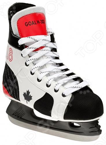 Коньки хоккейные Atemi GOAL H-303