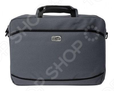 Сумка для ноутбука PC Pet PCP-A1315 это отличная прочная сумка для ноутбука, которая убережет ваше устройство от внешнего воздействия. С фронтальной стороны есть практичный карман, в который вы сможете положить аксессуары для вашего ноутбука. Сумки такого типа представляют собой удобную переноску, а так же ежедневную защиту устройства от ударов, царапин и воздействия окружающей среды.