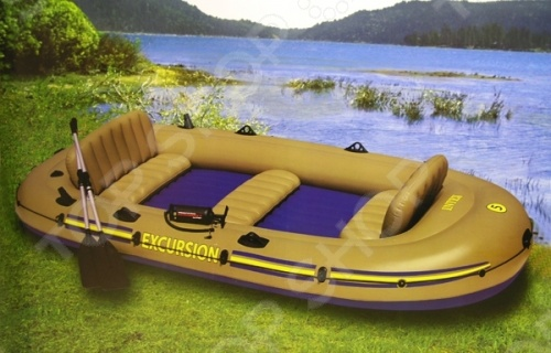 Лодка надувная Intex «Экскурсия-5» 68325