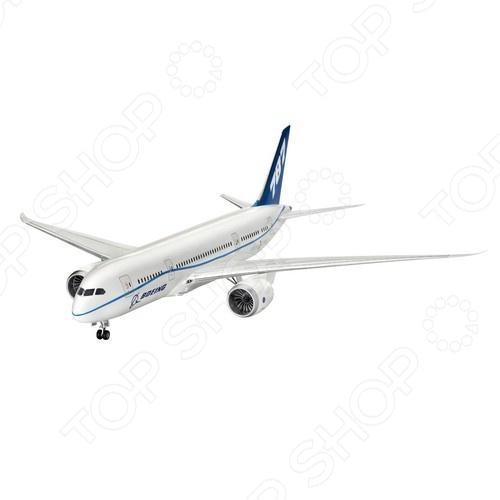 Сборная модель пассажирского самолета Revell Boeing 787 Dreamliner самолеты и вертолеты revell сборная модель сборная модель пассажирский самолет dhc 6 twin otter 1 72