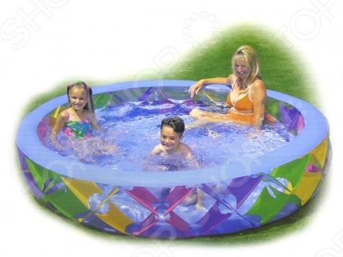 Бассейн надувной Intex 56494 надувной бассейн intex бассейн аквариум 152 56см