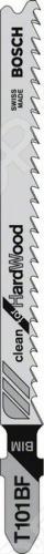 Набор пилок для лобзика Bosch T 101 BF BIM пилки для лобзика по металлу для прямых пропилов bosch t118a 1 3 мм 5 шт