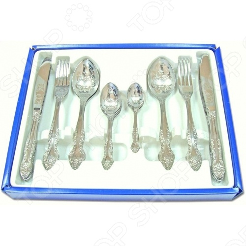 Набор столовых приборов Павлово «Подарочный» набор кофейных ложек 6 шт металл глубокое серебрение e p n s великобритания 1930 е гг