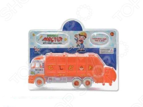 Машина инерционная Zhorya Мусоровоз Х75167 - отлично смоделированный яркий грузовик-мусоровоз. Машинка с хорошей детализацией и инерционным механизмом, отлично подойдет для игры как дома, так и на улице с друзьями. Эта игрушка готова подарить вашим детям отличное времяпрепровождение и зарядит хорошим настроением. Отличный вариант для пополнения коллекции хороших и качественных игрушек.
