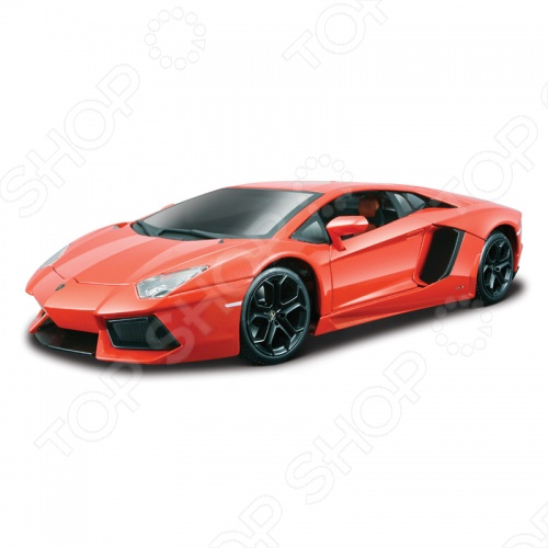 Модель автомобиля 1:18 Bburago Lamborghini Aventador LP700-4 welly модель автомобиля lamborghini aventador lp700 4 цвет оранжевый