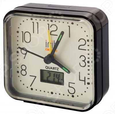 Часы-будильник с термометром Irit IR-500