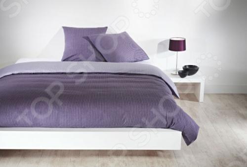 Фото Комплект постельного белья Dormeo Costume. 2-спальный. Цвет: лиловый