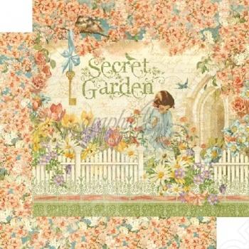 фото Бумага для скрапбукинга двусторонняя Graphic 45 Secret Garden, купить, цена