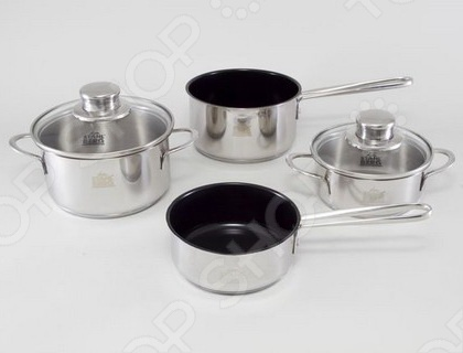 Набор кухонной посуды Stahlberg MINI 1790-S набор посуды 6 предметов stahlberg mini 1790 s