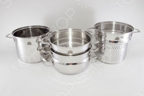 Набор кухонной посуды Stahlberg MADELINA 1805-S
