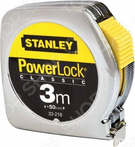 Рулетка Stanley Powerlock 0-33-218 рулетка stanley 5м х19мм powerlock 0 33 194