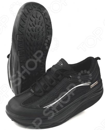 Познакомьтесь с обновленной версией кроссовок Walkmaxx! Комфорт и удобство остаются прежними, но новые Walkmaxx Black имеют более привлекательный дизайн и технологические преимущества. Walkmaxx Black предлагает оптимальный комфорт для всех поколений. Если вы ходите по магазинам, идете на прогулку, или на работу... Почему стоит попробовать кроссовки Walkmaxx Black  Благодаря оригинальной округлой подошве, вы будете испытывать приятное ощущение ходьбы босиком по песку!  Вашим ногам будет легко и удобно, они будут дышать  Польза для здоровья ваша походка станет более естественной, и вы будете быстрее худеть или просто держать тело в отличной форме.  Благодаря отличному сцеплению подошвы Walkmaxx Black, вы будете получать больше пользы от прогулок мышцы придут в тонус  Дайте отдохнуть спине и суставам! Инновационная округлая ортопедическая подошва вот что отличает обувь Walkmaxx. Почему бы вам не только обуваться по погоде, но и делать это с пользой для здоровья Благодаря оригинальной округлой подошве Walkmaxx Black вы вырабатывается правильную походку, спину значительно проще держать прямо, а ваша осанка скорректируется. Укрепляйте мышцы и сжигайте калории при каждом шаге! С кроссовками Walkmaxx вы можете укрепить свои мышцы, улучшить осанку и сжечь лишние калории. Это возможно не только при занятиях спортом, но даже когда вы идете на работу, в магазин или просто прогуливаетесь! Благодаря оригинальной округлой подошве Walkmaxx, вы почувствуете, что ваши пятки будто бы проваливаются в мягкий песок. При этом ваше тело, чтобы сохранить равновесие, будет непроизвольно напрягать мышцы ног, ягодиц и спины. Это поможет укрепить мышцы, избавиться от целлюлита и лишнего веса! В чем секрет кроссовок Walkmaxx Подошва у кроссовок Walkmaxx не прямая, как у обычной обуви, а приподнята от земли на пятке и на мысках. При каждом вашем шаге в кроссовках Walkmaxx, стопа будет медленно перекатываться вперед назад. Ваше тело, балансируя при ходьбе, будет автоматически распределять вес на ц