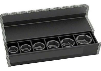 Набор головок для торцевых ключей Bosch 2608551105  набор сменных головок и насадок topex 38d669