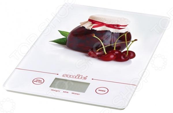 Весы кухонные Smile KSE 3219 teak house шкаф платяной madura