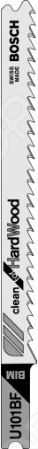 Набор пильных полотен Bosch U101 BF BIM bosch t 101 bf bim