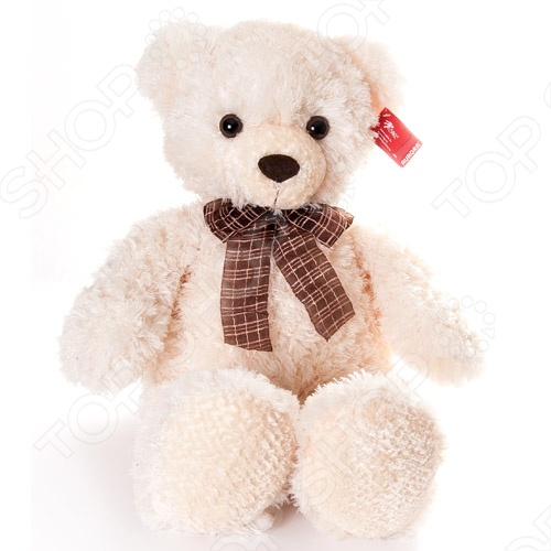 Игрушка мягкая AURORA Медведь с бантом 69 см станет отличным подарком вашему малышу. Очаровательный плюшевый медвежонок с большим клетчатым бантом на шее никого не оставит равнодушным, подарит вам и вашим детям умиление и радость. Изделие выполнено из высококачественного гипоаллергенного плюша с набивкой из синтепона и предназначено для детей от 3-х лет. Игрушку можно стирать в машинке, не опасаясь ее деформации и изменения цвета.