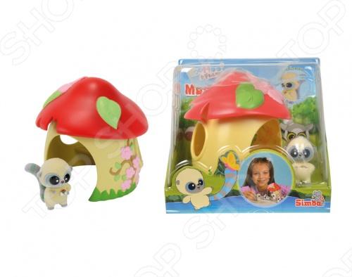 Домик-грибок Simba «YooHoo&Friends» мягкие игрушки simba мягкая игрушка грибок 15см 8 32