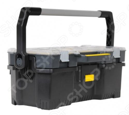 Ящик для инструментов STANLEY со съемным органайзером ящик для инструментов truper т 15320