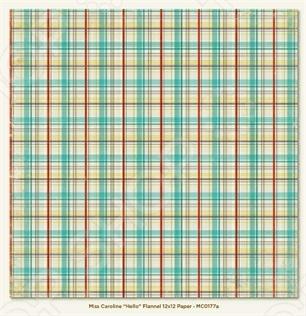 фото Бумага для скрапбукинга двусторонняя Morn Sun Flannel, купить, цена