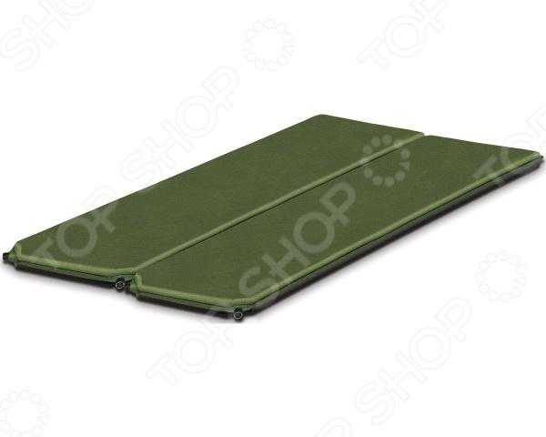 Коврик самонадувающийся Alexika Double Comfort коврик самонадувающийся alexika grand comfort цвет оливковый 9372 0007