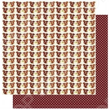 фото Бумага для скрапбукинга Rayher «Ряды белок», купить, цена