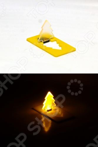Свеча светодиодная карманная Drivemotion «Новогодняя ёлка». В ассортименте