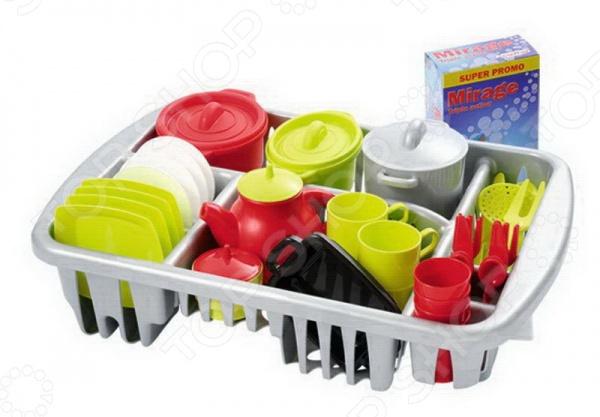 Набор посуды детский Ecoiffier 1210 набор игровой ecoiffier сушилка для посуды посуда 39 предметов