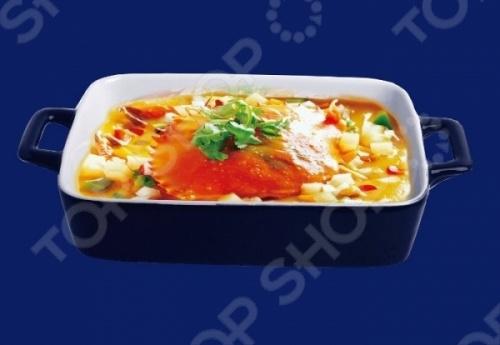 Блюдо для запекания Bohmann BH-6404 это отличная форма для выпекания пирога, которая подойдет для ваших любимых блюд. Посуда идеально подходит для выпекания различной выпечки, ведь форма предотвращает тесто от вытекания , при этом, предоставляя возможность с легкостью извлечь готовую выпечку. Материал абсолютно безопасен и не вступает в реакцию с продуктами, а так же не влияет на запах и вкус готового изделия.