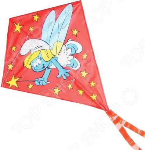 Воздушный змей Смурфики «Смурфетта-фея»